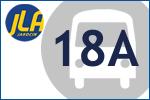 """""""18A"""" Jarocin Dworzec autobusowy – Jarocin ŚW. Ducha 700-lecia"""